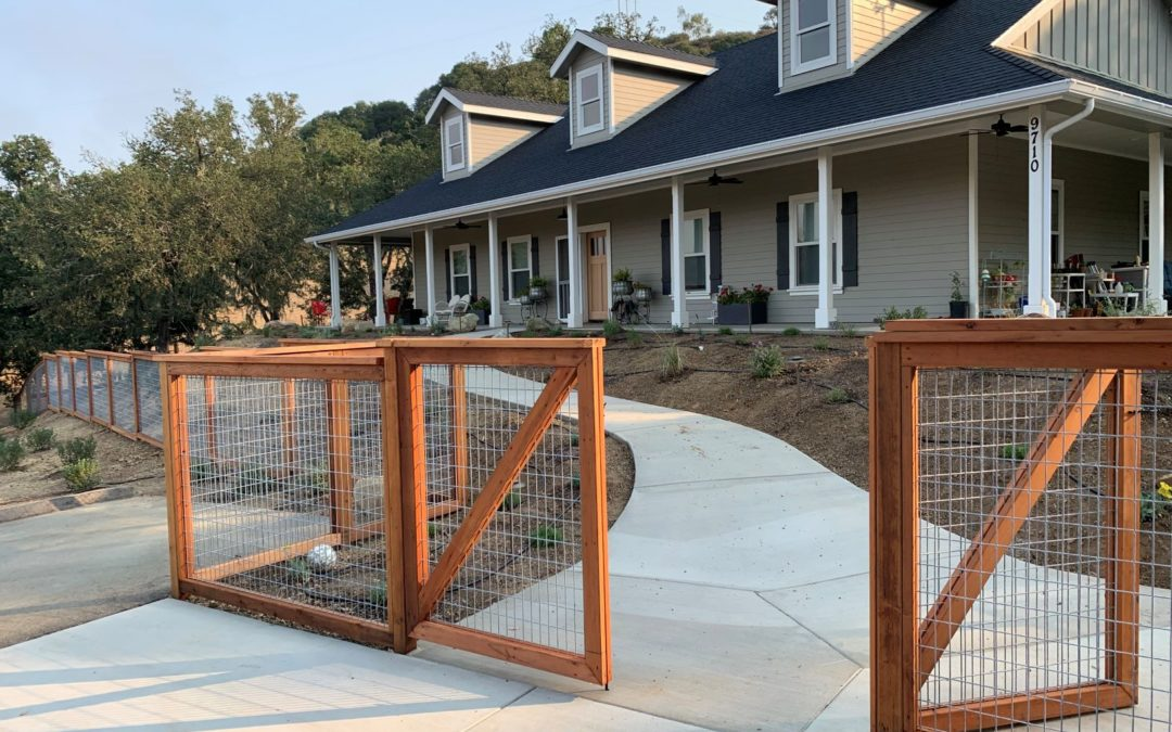 Newly Built: Atascadero Woodland Retreat