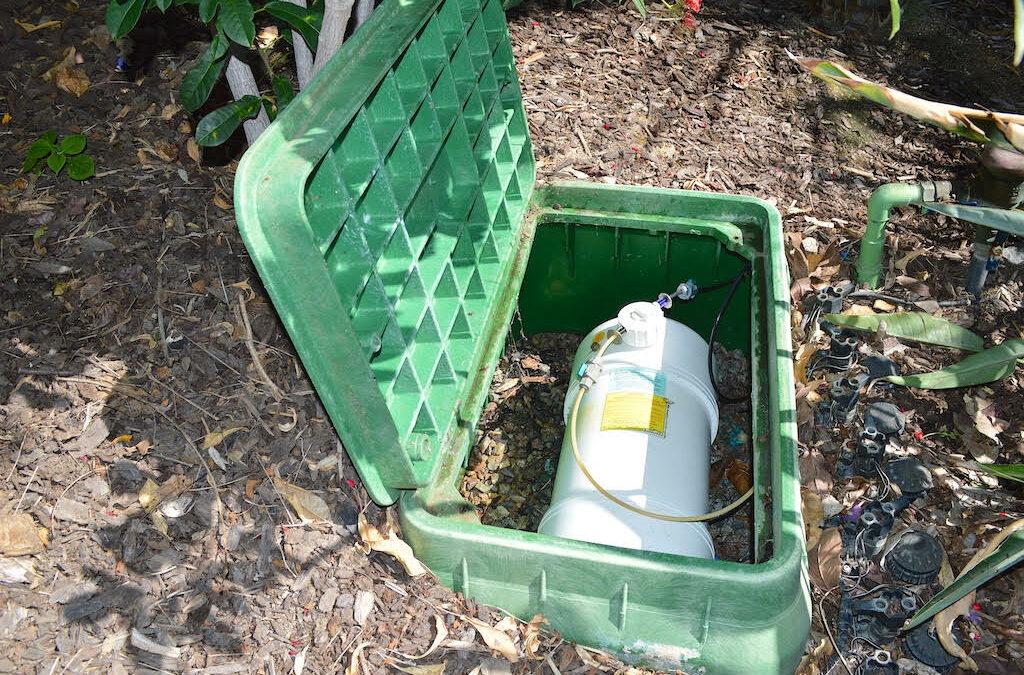 Fertigation: Fertilize and Irrigate All in One